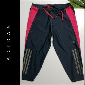 Adidas Woman Running Climacool  Crop Pants Medium